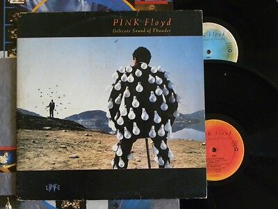 "Pink Floyd Delicate Sound Of Thunder Lp 12"" Radio / Dj Cbs Promo Made In Brazil"