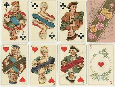 JOKER * B.Dondorf Playing Cards No. 162 (Baronesse), um 1900