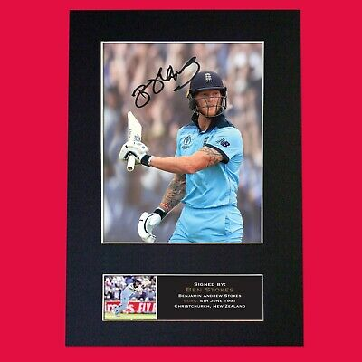 BEN STOKES England Cricket Quality Autograph Mounted Signed Photo RePrint 813