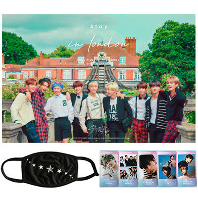 STRAY KIDS FIRST PHOTO BOOK [STAY IN LONDON] + Pre-order Benefits+GIFT