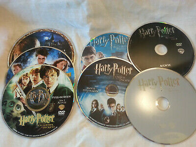 Harry Potter Lot of Used DVDs - Complete Series, Loose DVDS in Sleeves