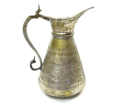 Antique Islamic-Arabic -Middle Eastern Islamic Lebanon COPPER Pitcher