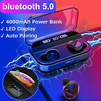 X11 TWS Wireless Earphones bluetooth 5.0 Headset Mini Earbuds LED Headphones