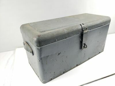 Antique Tool Box, Leather Handles