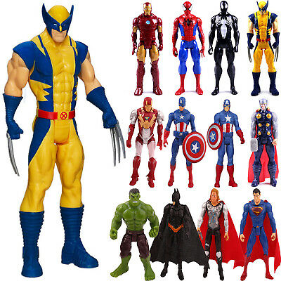 New Super Hero The Avengers Action Figures Iron Man Spider Man Kids Toys Gifts