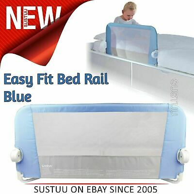 Lindam Toddler Easy Fit Bed Rail¦Baby Kid's bed Sleep Safety Guard rail¦Blue¦