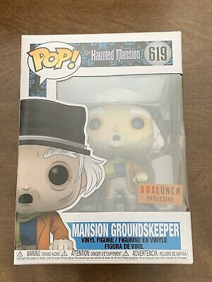 HAUNTED MANSION GROUNDSKEEPER Funko Pop Disney Parks - Box Lunch Exclusive