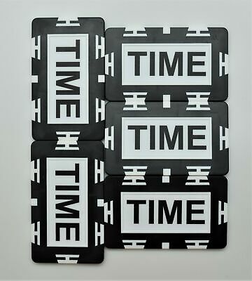 (5) TIME Plaque Tournament Time Extension Casino Poker Home Use