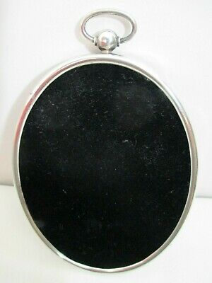 Vintage Sterling Silver Oval Picture Frame George A Henckel & Co NY