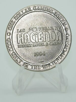 Hacienda $1 Casino Token Las Vegas Nevada 31mm 1994