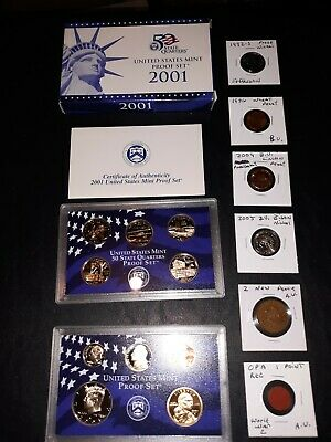 coin LOT collection US proof mint set vintage coins ww2 opa bison NO JUNK DRAWER
