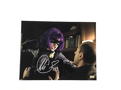Chloe Grace Moretz Rare Signed Hit-Girl 11x14 Photo Kick-Ass The Movie + COA
