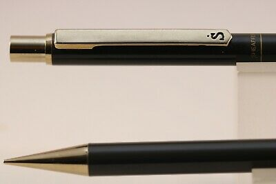 Vintage Sheaffer Sentinel Lacquered Grey Mechanical Pencil with Gold Trim