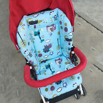 Washable Star Print Baby Stroller High Chair Seat Cushion Liner Mat Pad Cover Do