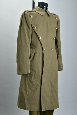 British Army Infantry Officers' WW2 or Later Greatcoat. Royal Scots Button. SXK