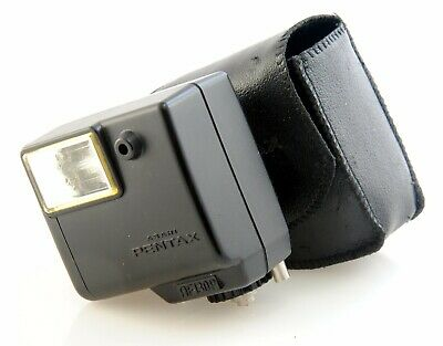 Pentax AF130P Flash for Pentax Auto 110 Cameras. Fully Working with Case