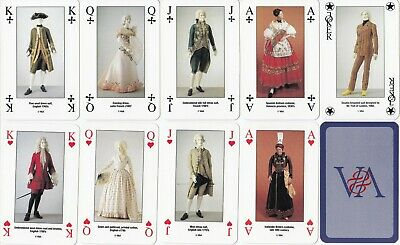"JOKER * Grossbritannien ""Costume Playing Cards"" Victoria & Albert Museum"