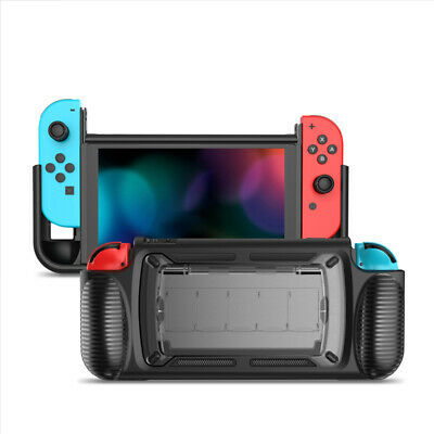 For Nintendo Switch Grip Case with 5 Game Cards Storage Hand Grip Accessories