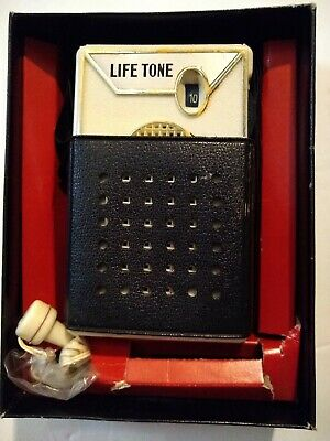 LIFETONE 6 Transistor Radio COMPLETE WITH ORIGINAL EARPHONE