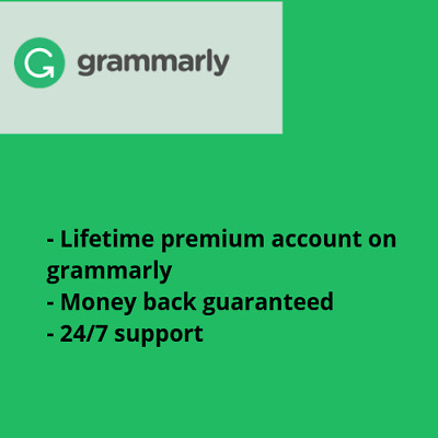 Grammarly LIFETIME Premium Warranty