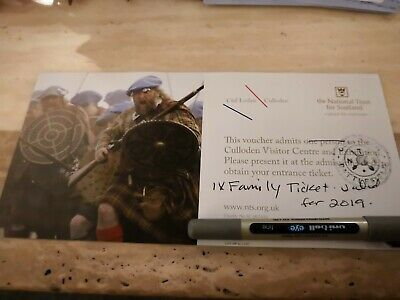 Family Admission Ticket for Culloden Visitor Centre and Exhibition - IV2 5EU