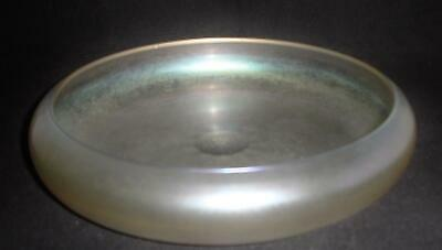 Steuben Verre de Soie Art Glass Low Bowl