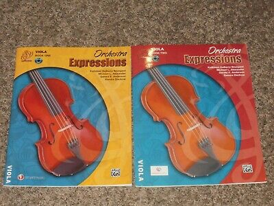 00EMCO1003CD Orchestra Expressions Viola Book 1 Alfred Publishing Co