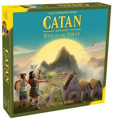Catan Histories Rise of the Inkas Board Game