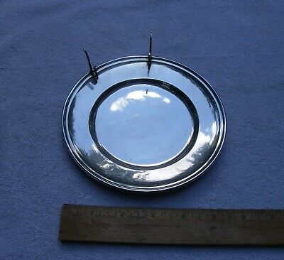 Vintage GORHAM Sterling BREAD & BUTTER PLATE w/KNIFE RESTS-Number 10