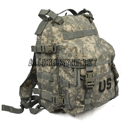 US Military Army 3 Day ASSAULT PACK Molle ACU Digital BACKPACK w STIFFENER EXC
