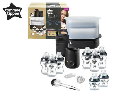 Tommee Tippee Closer to Nature Essentials Starter Set - Black