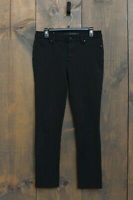Calvin Klein Jeans Solid Black Leggings Women's Size 8