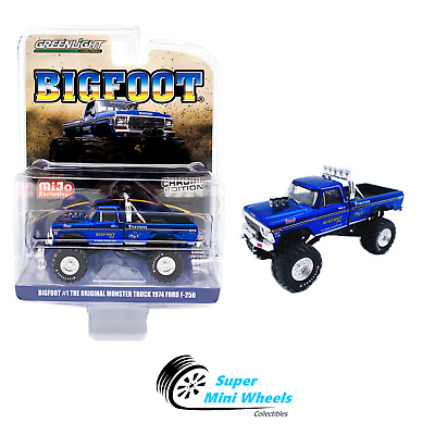 Greenlight 1:64 BigFoot #1 Chrome Edition 1974 Ford F-250 Monster Truck Limited