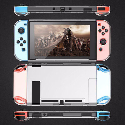 For Nintendo Switch Case Clear Shockproof Protective Transparent Hard Cover new