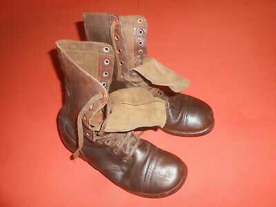 U.S.ARMY : WWII - Original US Army M-1943 Combat Boots -   used