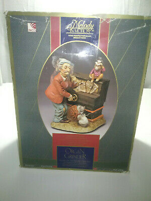Melody in Motion Organ Grinder in Box Works