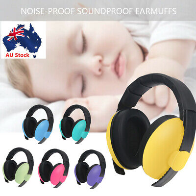 Baby Kids Adjustable Noise Cancelling Headphones Earmuffs Hearing Ear Protection