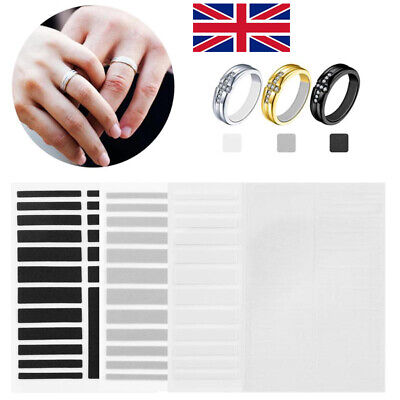 Invisible Ring Size Adjuster Set Reducer Adjuster Pad Resizing Tighteners Tools