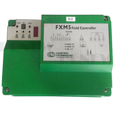 Used CONTROL TECHNIQUES FXM5 Field Controller 10A-20A. Ready To Ship