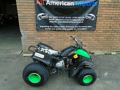 Yamaha Yfm100 Champ Quad Bike(1991) Black! Us Import! Matching No's Exc Project!