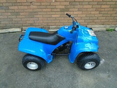 Yamaha Yf60S 4 Zinger Quad Bike(1986) Blue Us Import! Matching No's Exc Project!