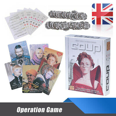 Coup Card Game Full English Version Basic Games Board Game Party Family Game New