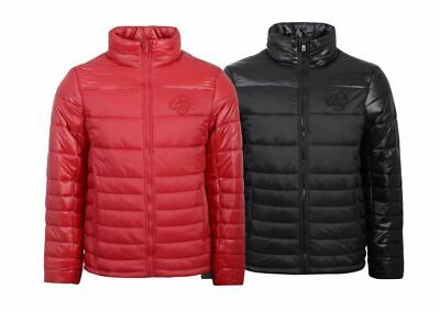 New Mens Crosshatch Jacket Ski Coat Bubble Quilted Puffer Padded Hooded Winter