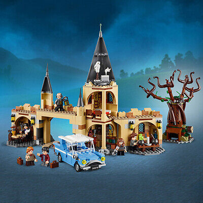 NEW Harry Potter Whomping Willow Hogwarts Castle Building Bricks Set Toys Bagged