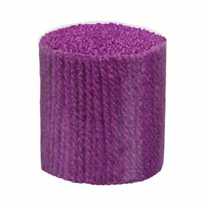 Latch Hook Wool Yarn - Trimmits - Plum -  400 strands 3ply Use on 5hpi canvas