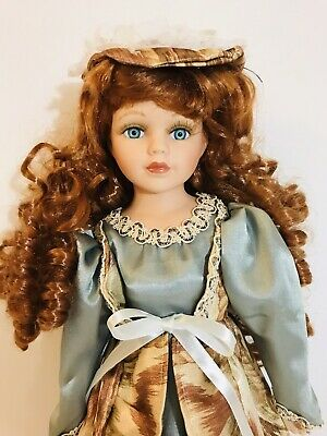 vintage  The Princess Collection 1992 Porcelain Hand Painted Doll toy