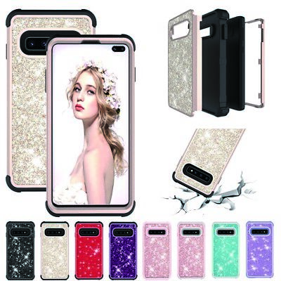 For Samsung Lot luruxy Shiny Case Shockproof Hard PC+Silicone Back Phone Cover