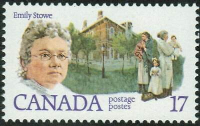 Canada sc#879 Canadian Feminist: Emily Stowe, Mint-NH
