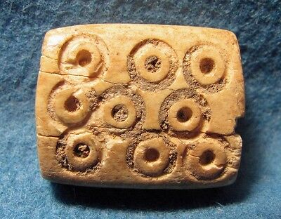 Judaea / Israel Iron Age or Later. Very Nice Bone Bead.