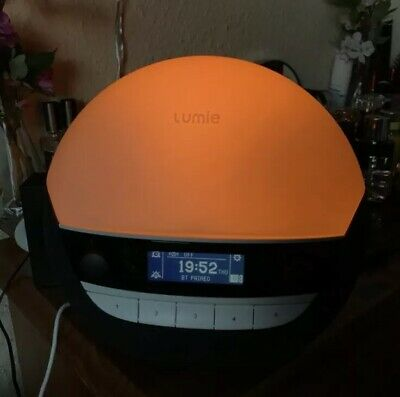Lumie Bodyclock Luxe 700 - Wake-up Light with Bluetooth Audio and Low-Blue Sleep